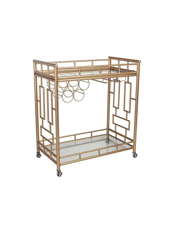 Shelley The Holloway Bar Cart