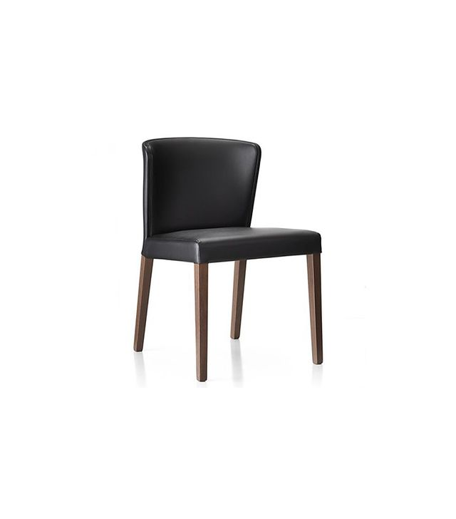 Crate and Barrel Curran Black Dining Chair