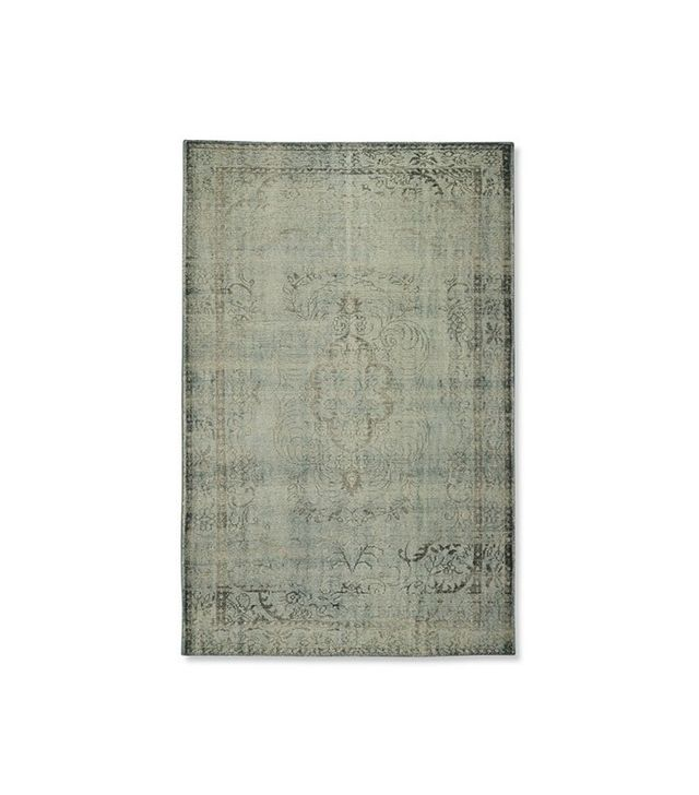 Williams-Sonoma Home Hand-Knotted Antiqued Sky Rug