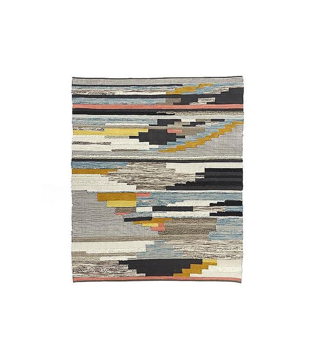 West Elm Multi Pixel Woven Rug