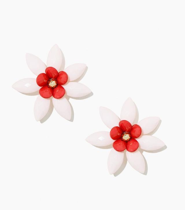Uterque Flower Earrings