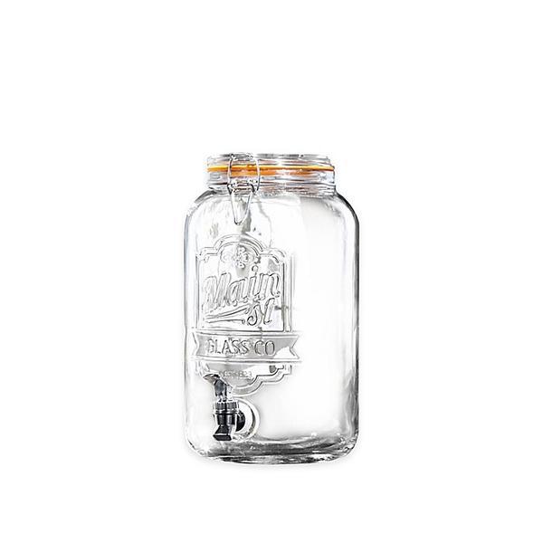 Main Street Crystal Beverage Dispenser