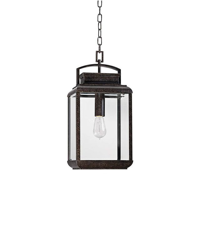 Lamps Plus Quoizel Byron Imperial Bronze Hanging Lantern