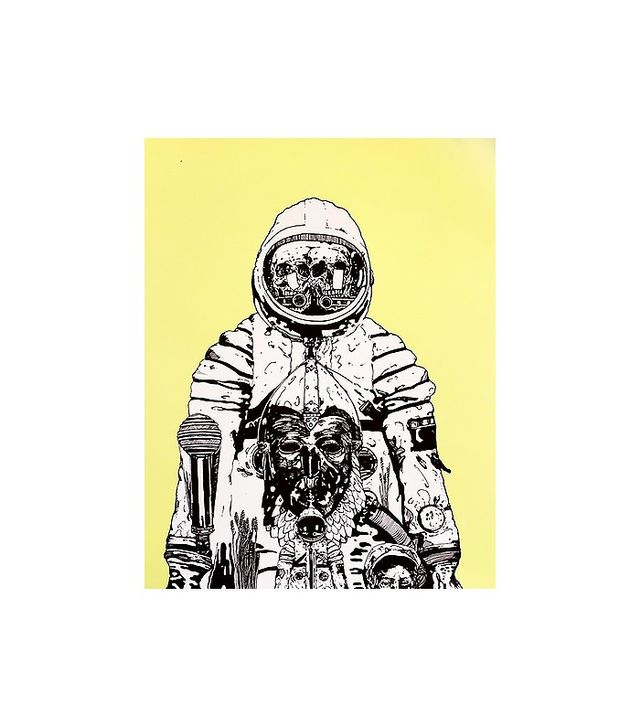 Jesse Weiss Chernobyl Cosmonaut Print