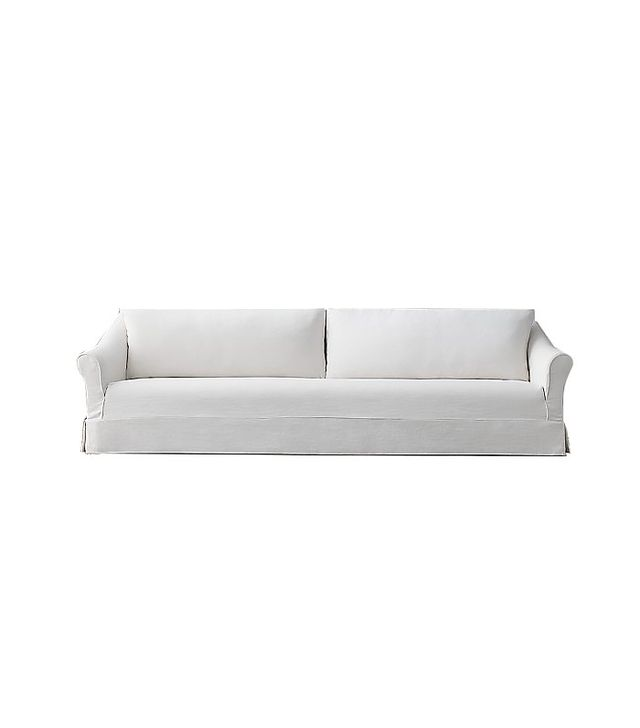 Restoration Hardware Devon Slipcovered Sofa