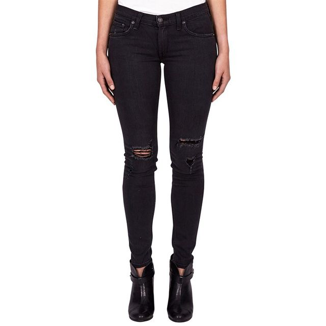 Rag & Bone Skinny Soft Rock With Holes