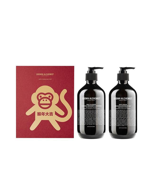 Grown Alchemist Body Cleanser & Body Cream Twin Set