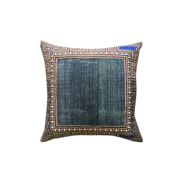 Barefoot Gypsy Indigo Hill Tribe Cushion