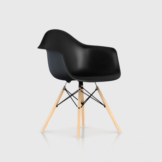 Eames Moulded Plastic Dowel-Leg Armchair