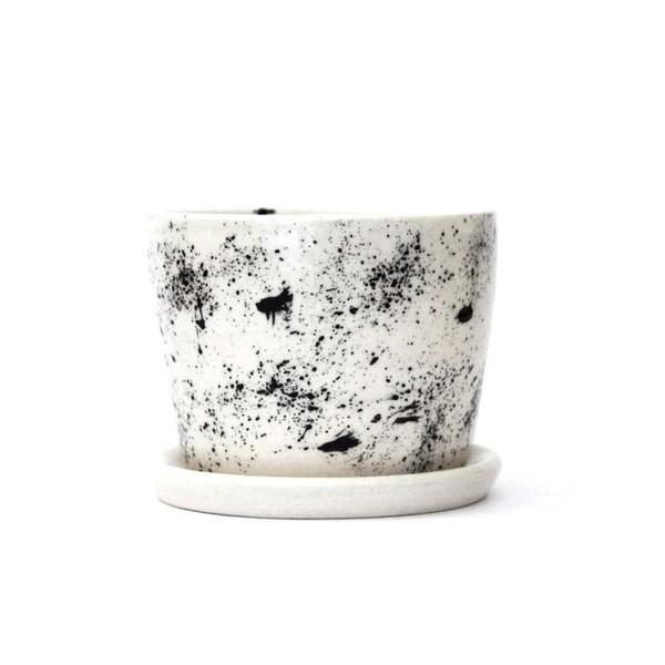 Domus Botanica Handmade Ceramic 'Galaxy' Planter