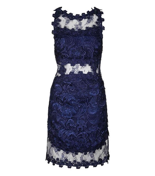 Topshop Premium Lace Bodycon Dress