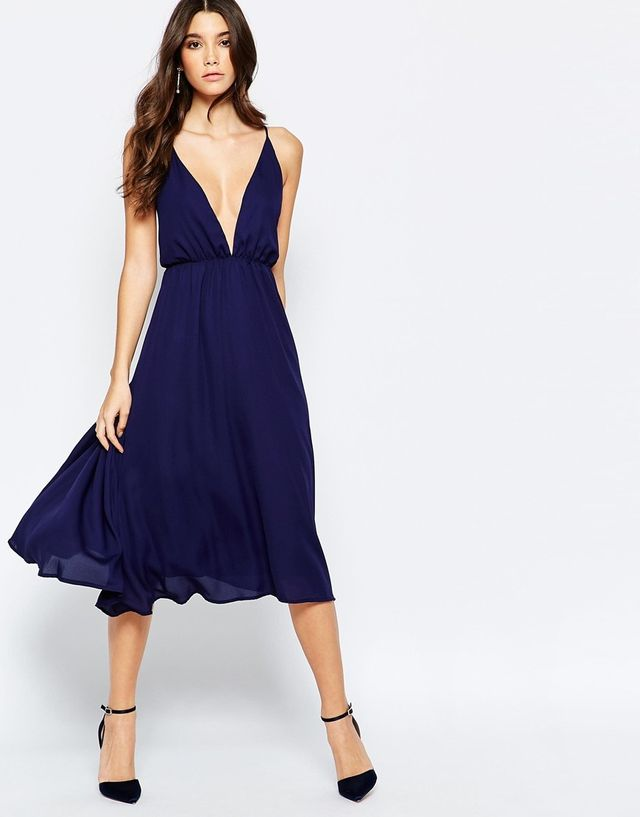 ASOS True Decadence Cami Midi Dress