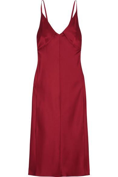 Helmut Lang Satin Dress