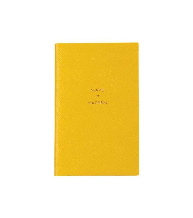 Smythson 'Make It Happen' Panama Notebook