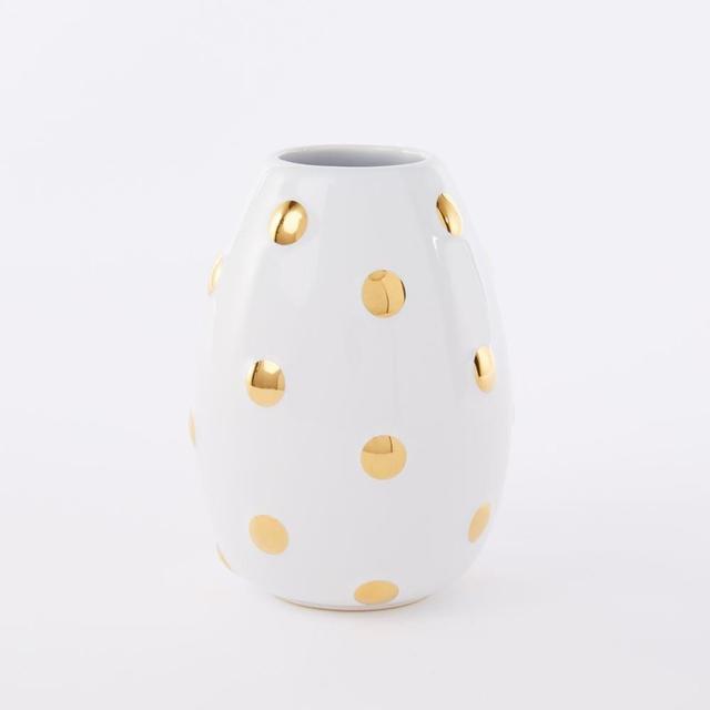 Freedom Geometric Ceramic Bud Vase