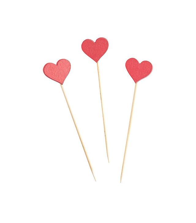Paper Source Heart Picks, Set of 12