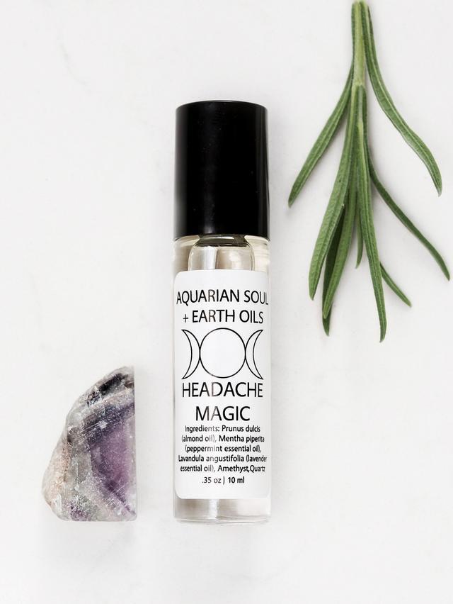 Aquarian Soul Amethyst Headache Magic Oil