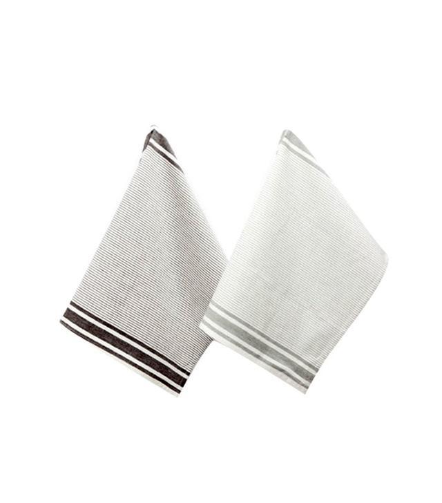 Zara Home Striped Cotton Dish Towel