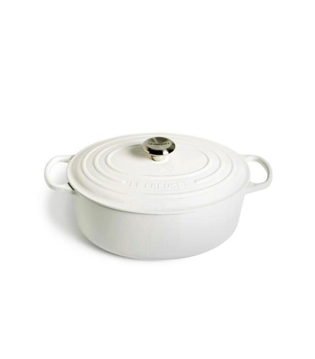 Le Creuset Signature 6 ¾ Quart Oval Enamel Cast Iron French Oven