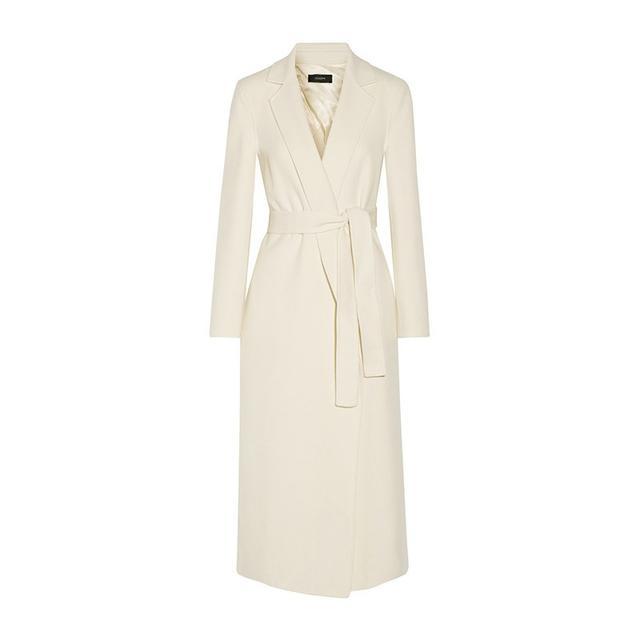 Joseph Kido Wool Cashmere Blend Coat
