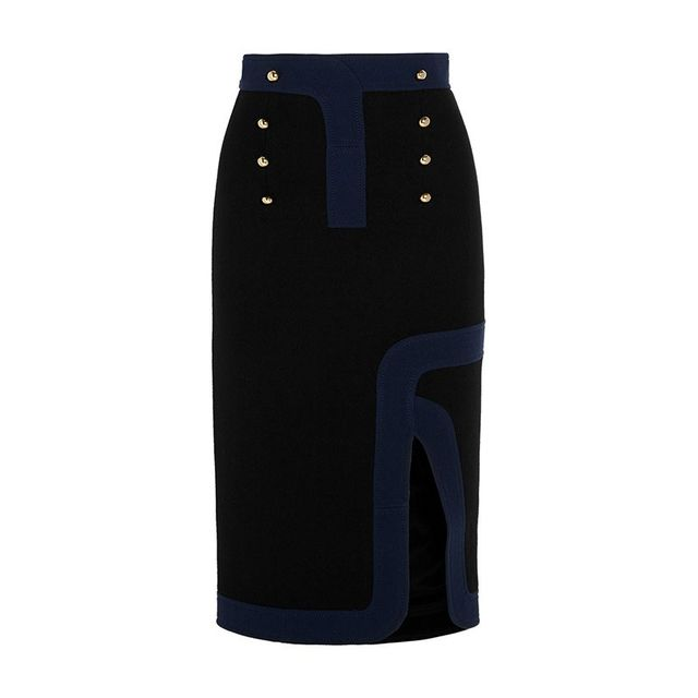 Peter Pilotto Track Two Tone Skirt