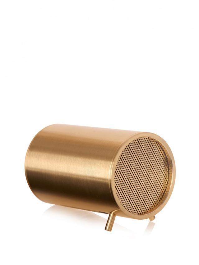 Leff Amsterdam Tube Brass-Plated Speaker