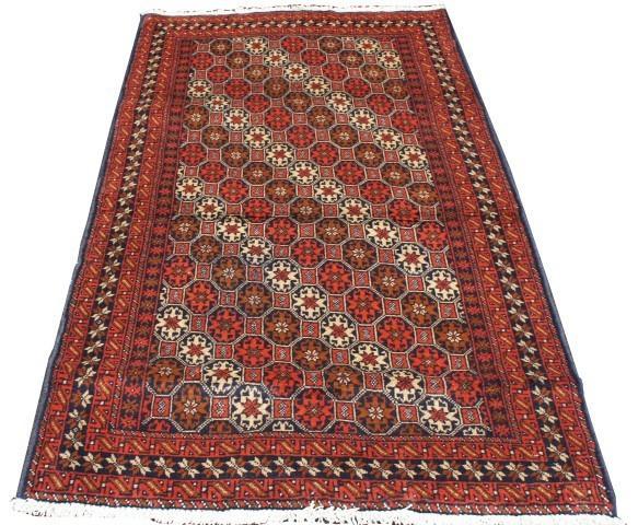 Baluchi Handmade Hand Knotted Persian Rug