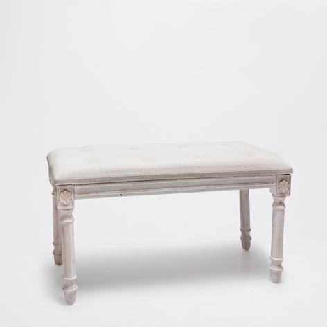 Zara Home Upholstered Wooden Bench