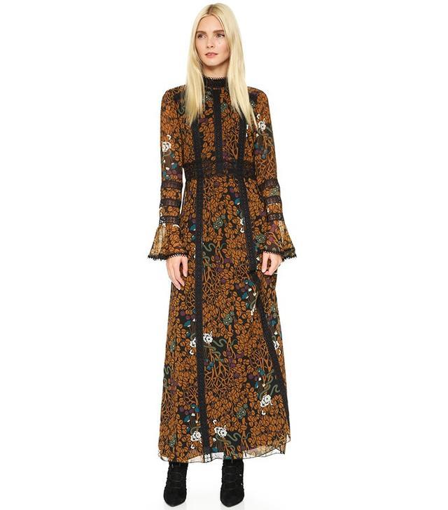 Anna Sui Garden of Eden Dress