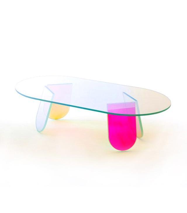 Glas Italia Shimmer Coffee Table