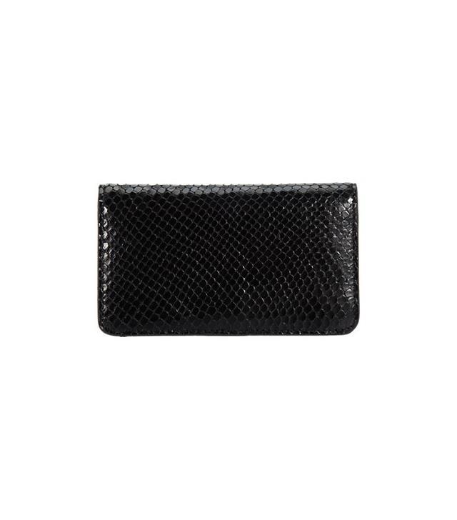 Barneys New York Python Phone Case & Wallet