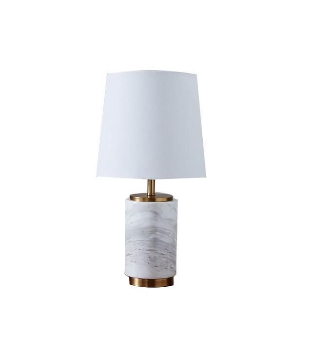 West Elm Small Pillar Table Lamp