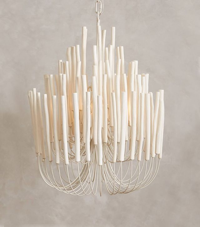 Anthropologie Tiered Tapers Chandelier