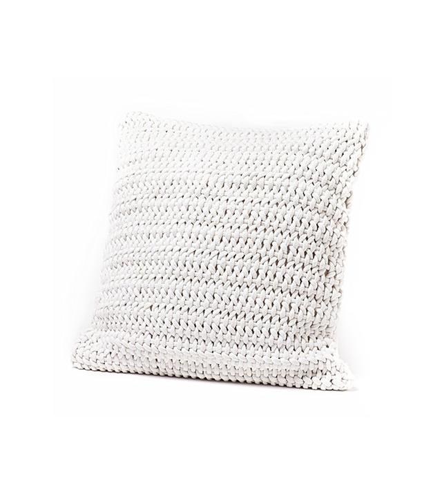 Coyuchi Handwoven Rope Pillow