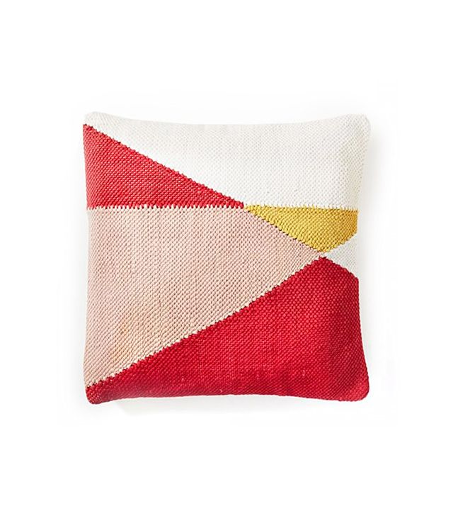 West Elm Chindi Colorblock Pillow