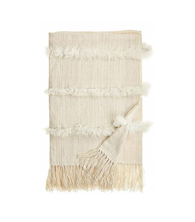Homelosophy Sheepskin Throw Blanket