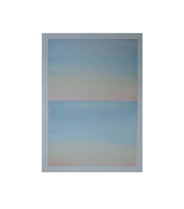 """""""Watercolor Double Sky 1"""" by Alessandra Es"""