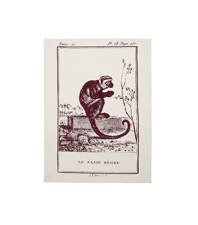Thomas Paul Monkey Tea Towel