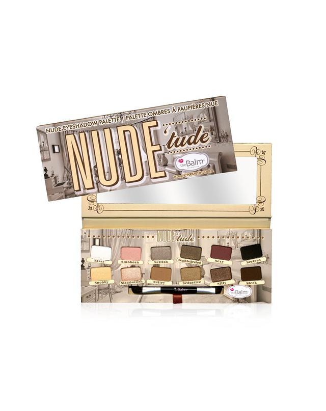 TheBalm Nude'tude Nude Eyeshadow Palette in Nice