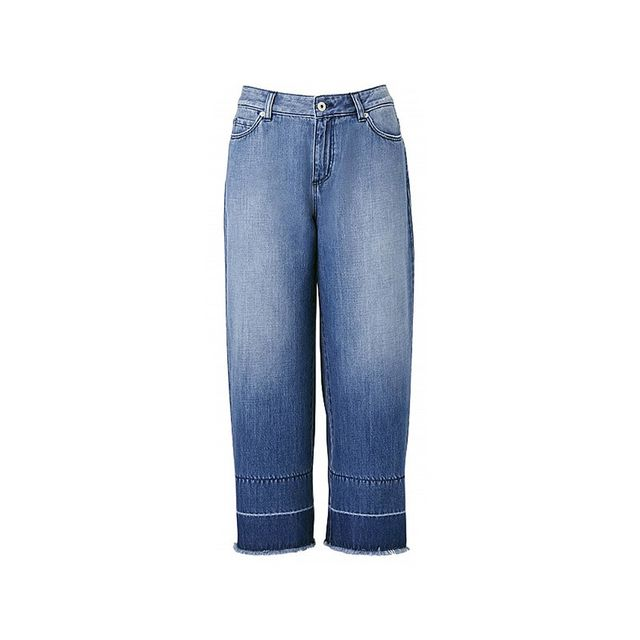 Witchery Crop Wide Jeans