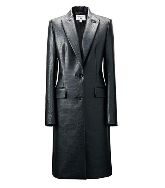 Carine Roitfeld for Uniqlo Neo Leather Coat