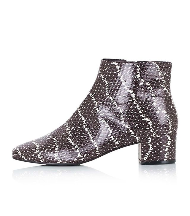 Topshop Betty Snake Boots