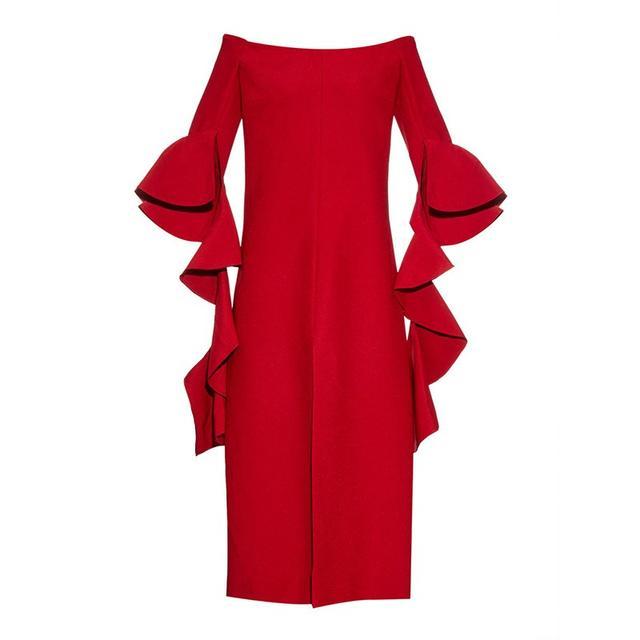 Ellery Precocious Off-The-Shoulder Dress