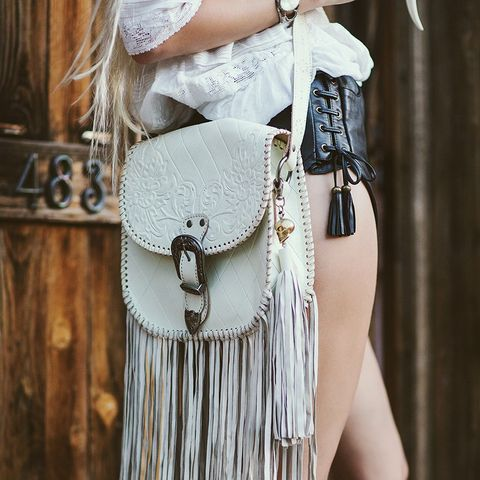 The Muse Fringe Bag