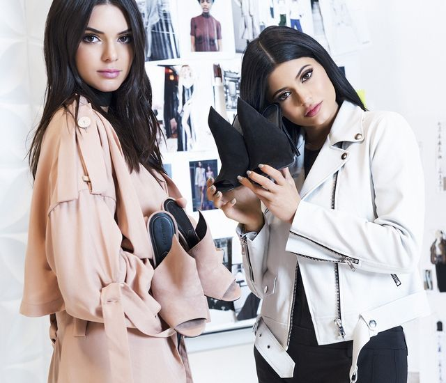 """Kendall on Kylie """"Kylie takes risks. Her style is cool and different."""" Kylie on Kendall """"Kendall's style is classy. Her outfits are simple but still make a..."""