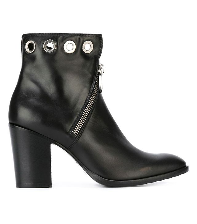 Strategia Eyelet Detail Ankle Boots