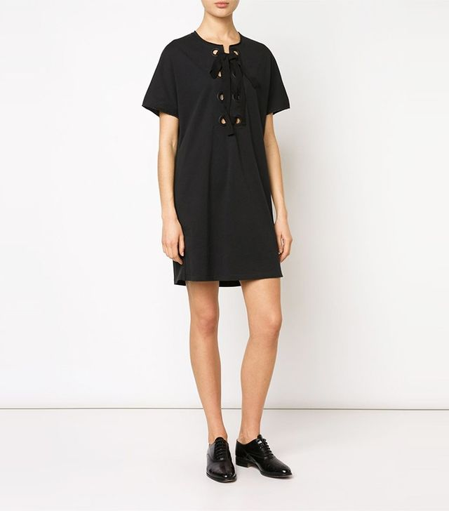 3.1 Phillip Lim Lace-Up Shift Dress