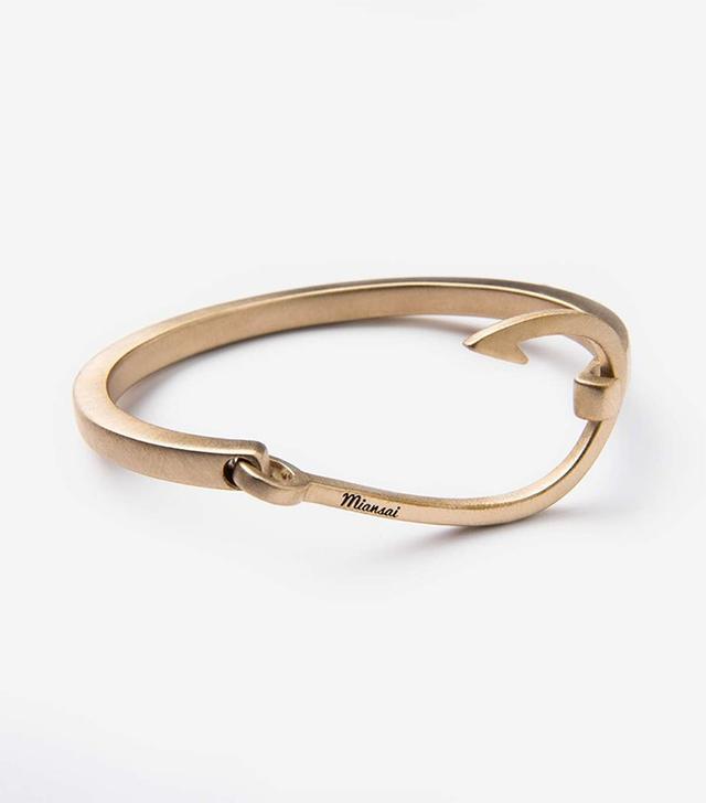 Miansai Men's Brass Hooked Cuff