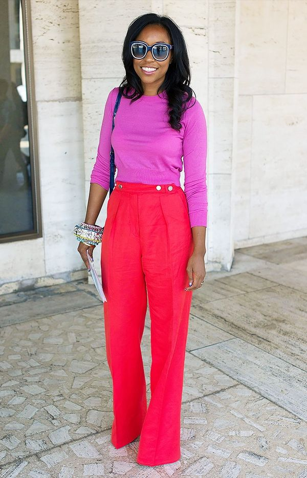 WHO: Shiona TuriniWe think we just decided on our Valentine's Day outfit…