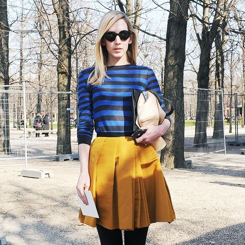 What Fashion Week Street Style Looked Like 5 Years Ago